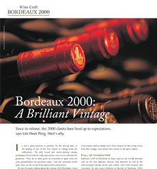Time Craft - Bordeaux 2000